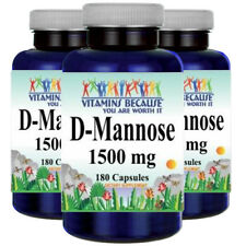 D-Mannose 1500mg 3X180 Capsules by Vitamins Because