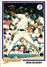 Ron Guidry // U Pick Choose Your Cards 1977-2002 // Buy 4+ Save 40%