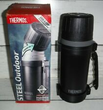 New Thermos Add-A-Cup Unbreakable Insulated Vacuum Bottle 1.1 Quarts