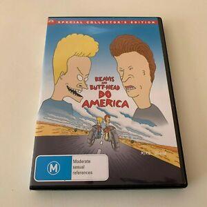 BEAVIS AND BUTT-HEAD DO AMERICA (DVD R4 1996) Collector's Edition