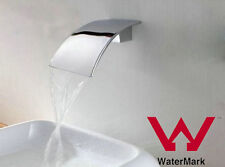 Bath Spout Waterfall Faucet Match Mixer Tap/Wall Top Assembly watermark Chrome