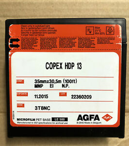 Agfa Copex HDP 13 35mm 100' Black And White