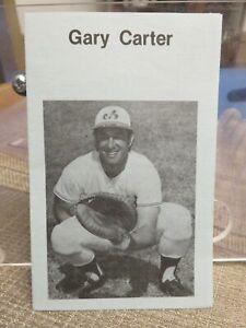 GARY CARTER (Montreal Expos) PAMPHLET Regarding Christian Life