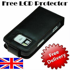 @ Leather Case for Nokia N97+Free LCD Protector @ in UK