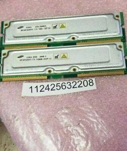 Rambus 512MB KIT PC1066 non-ECC 1066MHz-32P  184-Pin RDRAM RIMM Memory Module