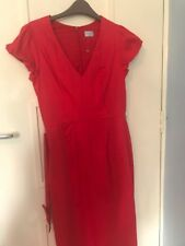 RED ELEGANT DRESS, OASIS, SIZE EURO 38 UK 12