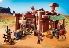 Playmobil 5246 Western Cowboy Gold Nugget Gold Mine  Outlaws & Miner   NEW