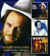 Merle Haggard The Epic Collection/Chill Factor/5:01 Blues 2-CD NEW SEALED