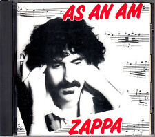 Frank Zappa As An Am FOO EEE Release 1997 Made In Japan CD CRCL-7502