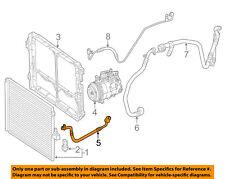 Mercedes Benz Genuine Hose A//C Condenser Compressor Suction Line 1042303656