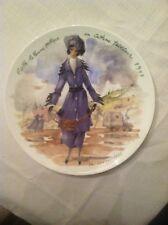 D' Arceau Limoges Porclain Collector Plate Les Femmes Du Siecle- 1975