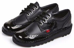 Kickers Kick Lo Brogue Core Leather Lace Ups Size UK 3 - UK 8 - LAST FEW PAIRS