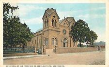 1922 Cathedral of San Francisco de Assisi, Santa Fe, New Mexico Postcard
