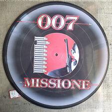 """007  – Missione Label: Top Secret Records  -  Vinyl, 12"""", Picture  Progressive"""