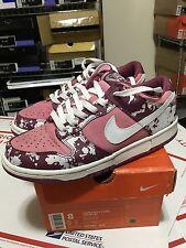Nike Dunk Low Splatter Women's Size 8 Pink Rare Denim Stussy Huf
