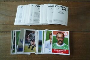 Panini Football 91 Stickers from 1991 - VGC! - no's 1-200 - Pick Your Stickers!
