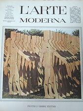L'ARTE MODERNA ART CONTEMPORAIN BERTINI KLEIN ARMAN CESAR CHRISTO FAHLSTRÖM 1967