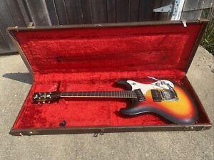 Vintage 1966 Mosrite Ventures Model Guitar