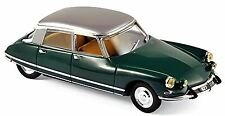 Citroën DS 21 Pallas 1967 Jura Verde & Plata 1:43 Norev