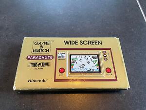 Nintendo Game And Watch PARACHUTE Rare With Original Box