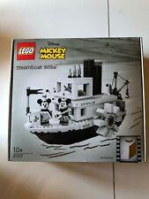 LEGO Ideas 21317 Steamboat Willie - neuf