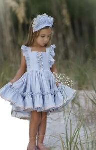NWT Dollcake Something Begining with B Dress Special Photo Girls sz 9