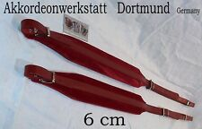 6 cm Akkordeongurte,Riemen,Bretelles accordeon,correas acordeon,Accordion Straps