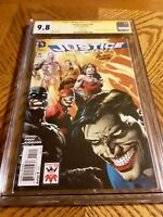 Justice League #41 CGC 9.8 NM Signed David Finch Joker 75th Anniversary Variant