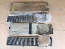 Pair Ford XY FALCON Grill Inserts. One NOS. Fairmont, GT, GS Grille.