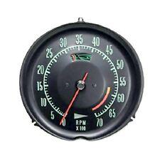 1968-1971 Corvette Tachometer 6000 RPM Redline New Electronic Conversion Tach