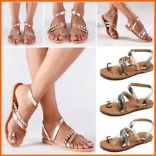 Plus size shoes Womens summer sandals European Slingbacks Flip Flop shoes casual