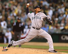 Seattle Mariners FELIX HERNANDEZ Glossy 8x10 Photo Baseball Poster Print