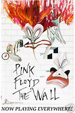Promotional Advance:  Pink Floyd * The Wall *  Alternate Movie Poster 1982