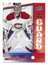 Carey Price 2008 / 09 Upper Deck The New Guard Card, # NE4, Montreal