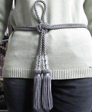 1 neuer KORDEL-Gürtel mit 2 handgef.QUASTEN-Handmade in Germany-in vielen Farben