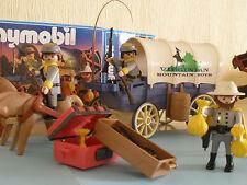 Playmobil Carreta Confederada del oeste años 90 Ref 3785