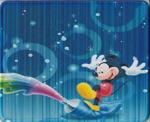 Cartoon Cute Mickey Mouse Blue Computer MOUSE PAD (1pc)