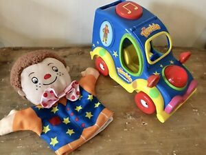 ❤️MR TUMBLE SOMETHING SPECIAL FUN SOUNDS MUSICAL LIGHT UP CAR MR TUMBLE PUPPET❤️