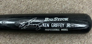 "Ken Griffey Jr Mariners Reds HOFer SIGNED Adirondack 34"" Bat NM w/ B&E Hologram"