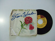 "Stevie Wonder – Send One Your Love - Disco Vinile 45 Giri 7"" Stampa USA 1979"