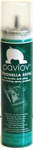 Pavlov Dog Spray Bark Gas Refill - Citronella