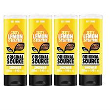 6 x 250 ml Original Source Shower Gel Set  Zesty Lemon & Tea Tree