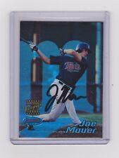 2002 Bowman's Best Joe Mauer Autograph RC