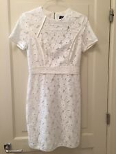 Magaschoni Lace Flower Sheath Dress Size 8 NWT Bridal, Wedding