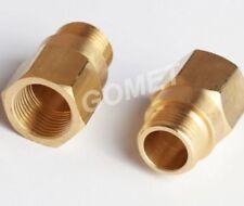 M18 x1.5 Lambda O2 Oxygen Sensor Extension Extender Spacer Exhaust brass Ø13,40
