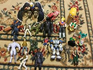 Large Lot of Assorted Toys and Action Figures