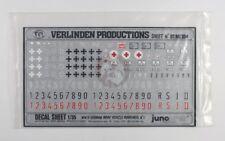 Verlinden 1/35 German Vehicle Markings, Iron Crosses & Plates WWII No.1 DTMI 304