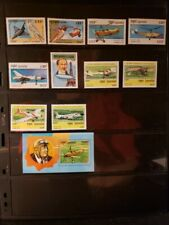 Cambodia Aircraft & Aviation Stamps Lot of 11 - MNH -See Details for List