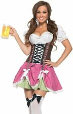 Ladies Oktoberfest Octoberfest German Beer Maid Wench Festival Costume Size 8-10