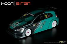 Rcon Siren Clear Lexan Body For 1/10 Touring Car / Front Wheel Drive / Frontie